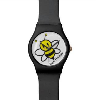 Niedliche Bienen-Uhr Armbanduhr