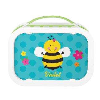 Niedliche Bienepersonalisierter Lunchbox