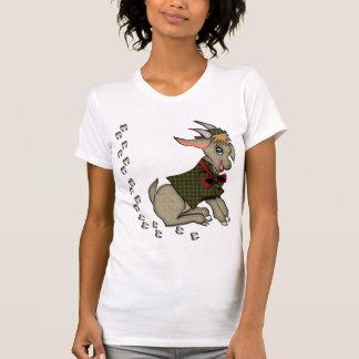 Niedliche Billy-Ziege mit Bowtie T-Shirt