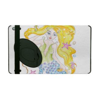 Niedliche blonde Meerjungfrau Hülle Fürs iPad