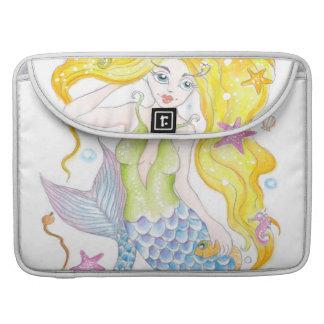 Niedliche blonde Meerjungfrau Sleeve Für MacBooks
