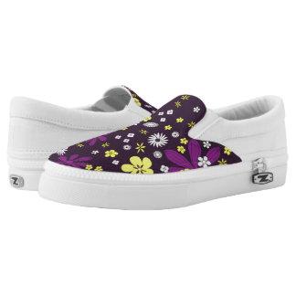 Niedliche Blumen des Tages Slip-On Sneaker