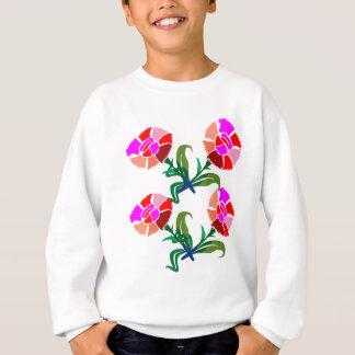 NIEDLICHE Blumen-Show: Dekorations-Grafiken Sweatshirt
