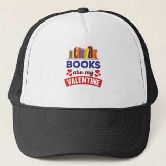 Niedliche Bücher sind mein Valentine-Druck Truckerkappe