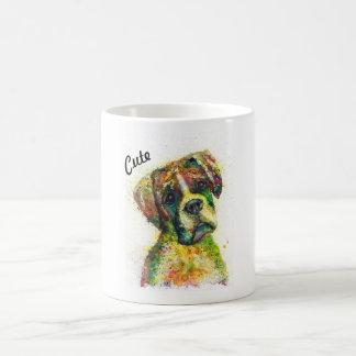 Niedliche Bulldogge Kaffeetasse