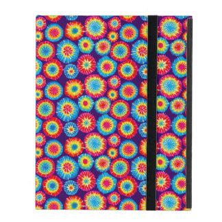 Niedliche bunte abstrakte Sonnemuster iPad Etuis