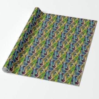 Niedliche Cairn-Terrier-Welpen-Geschenk-Verpackung Geschenkpapier