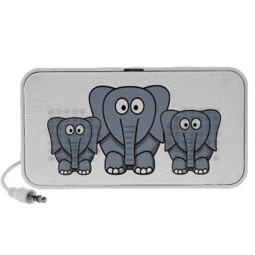 Niedliche Cartoon-Elefant-Lautsprecher