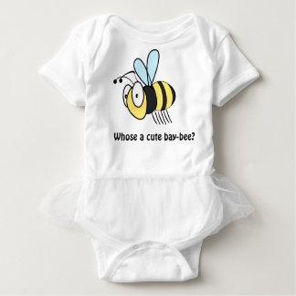 Niedliche Cartoonbiene Baby Strampler