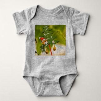 niedliche chrismas themed Kleidung Baby Strampler