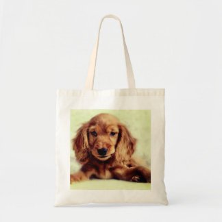 Niedliche Cockerspaniel-Welpen-HundeTaschen-Tasche Tragetasche