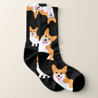 Niedliche Corgi-Socken Socken