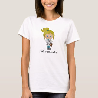 Niedliche Dame Doktor T-Shirt - Blondine