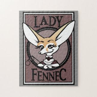 NIEDLICHE DAME FENNEC FOX PUZZLE