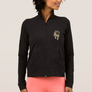 Niedliche die Praxis-Jacke der Mops-Frauen - Jacke