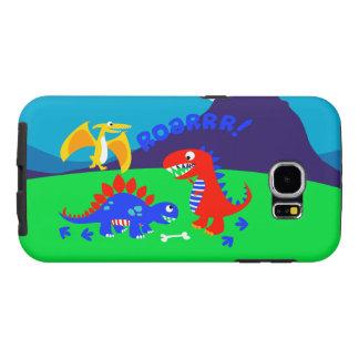 Niedliche Dinosaurier