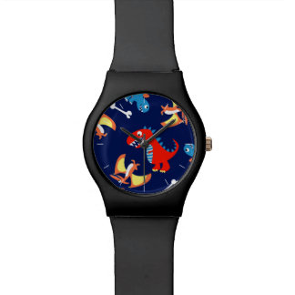 Niedliche Dinosaurier Armbanduhr
