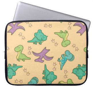 Niedliche Dinosaurier Laptopschutzhülle