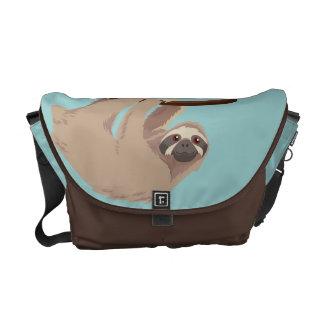 Niedliche Drei-Toed Sloth-Botetasche Kuriertasche