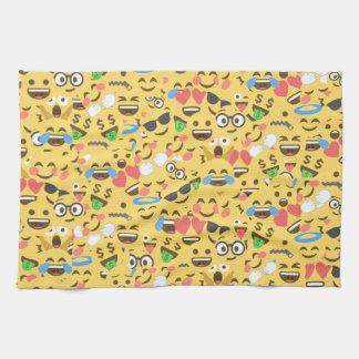 niedliche emoji Liebe hört Handtuch