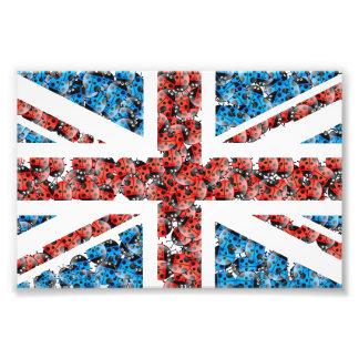 Niedliche England-Flagge Fotografie