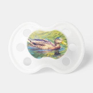 Niedliche Enten-Schwimmen Schnuller