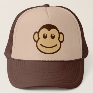 Niedliche entzückende reizende Affe-Hut-Kappe Truckerkappe