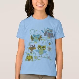 Niedliche Eulen-Crew T-shirt