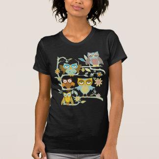 Niedliche Eulen-Crew Tshirts