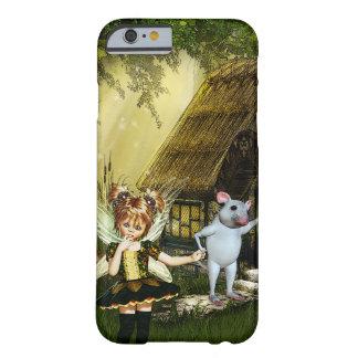 Niedliche Fee und weiße Maus Barely There iPhone 6 Hülle