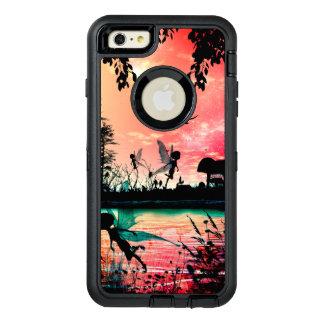 Niedliche Feen und Vögel OtterBox iPhone 6/6s Plus Hülle