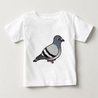 Niedliche Felsen-Taube Baby T-shirt