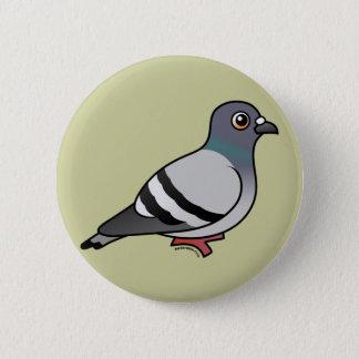 Niedliche Felsen-Taube Runder Button 5,7 Cm