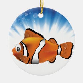 Niedliche Fische Keramik Ornament