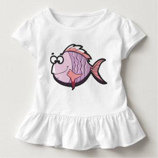 Niedliche Fische Kleinkind T-shirt