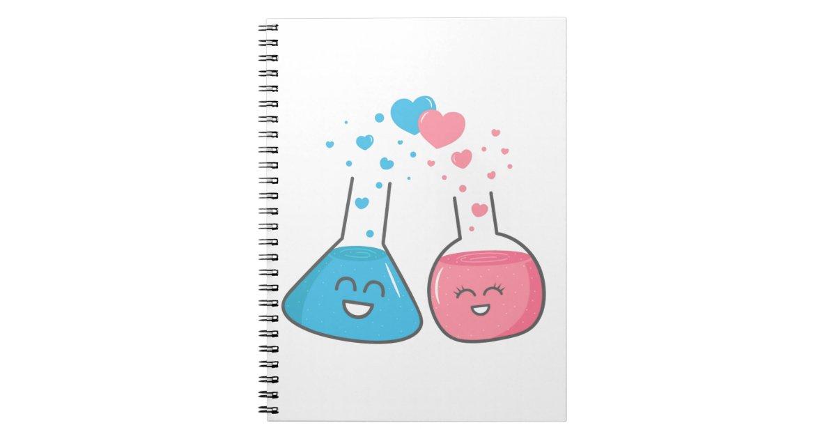 Niedliche Flaschen in der Liebe, haben wir Chemie