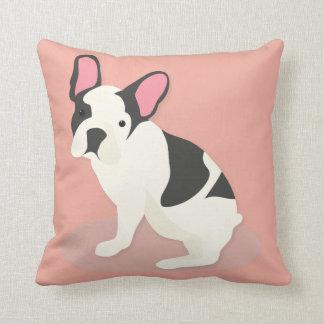 Niedliche französische Bulldogge Kissen