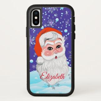 """Niedliche frohe Weihnachten """"Weihnachtsmanns u. iPhone X Hülle"""