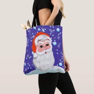 """Niedliche frohe Weihnachten """"Weihnachtsmanns u. Tasche"""