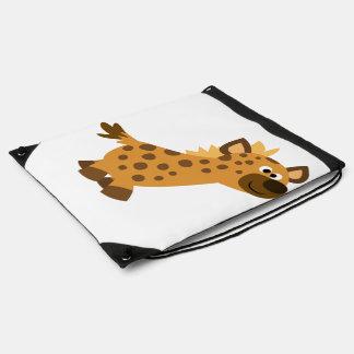 Niedliche gehende Cartoon-Hyäne Sportbeutel