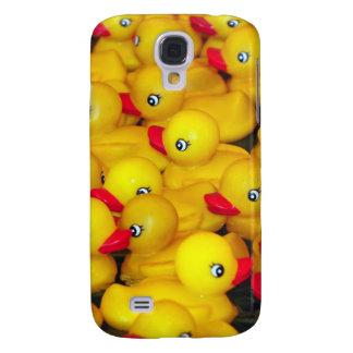 Niedliche gelbe Gummiduckies Galaxy S4 Hülle