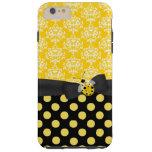 Niedliche gelbe Marienkäfer iPhone 6 Plusfall Tough iPhone 6 Plus Hülle