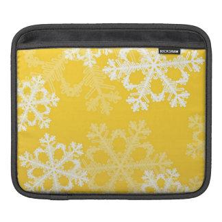 Niedliche gelbes und weißes sleeve für iPads