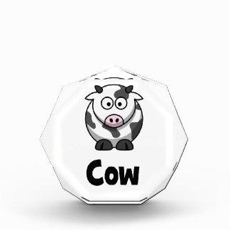 Niedliche gepunktete Kuh Auszeichnung
