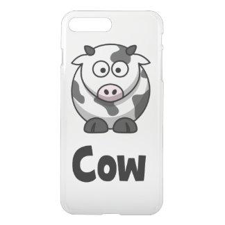Niedliche gepunktete Kuh iPhone 8 Plus/7 Plus Hülle