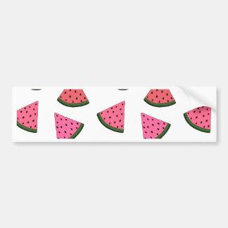 Niedliche gezeichnetes Muster der Wassermelone Autoaufkleber