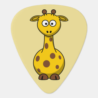 Niedliche Giraffe Plektron