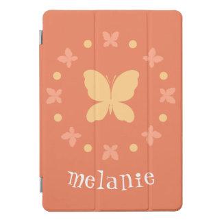 Niedliche Girly helle Koralle, Gelb, orange iPad Pro Cover