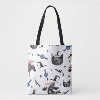 Niedliche Halloween gemalte Muster (Customizeable Tasche