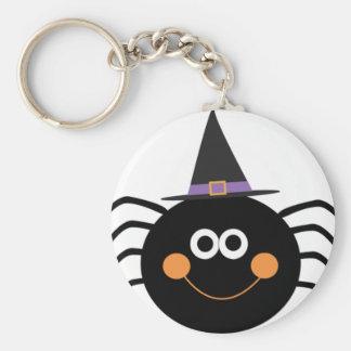 niedliche Halloween-Spinne Schlüsselanhänger